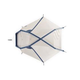 Heimplanet Fistral Tent insignia blue/seedpearl sand/dark purple